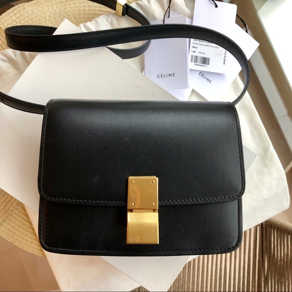 989f1d8c0c06 Celine Handbags - RARE Celine Small Box Bag Black- Box